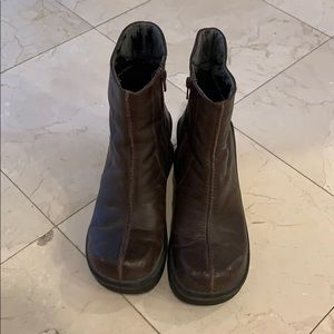 ALSO ankle boots size 39 Brown platform heels
